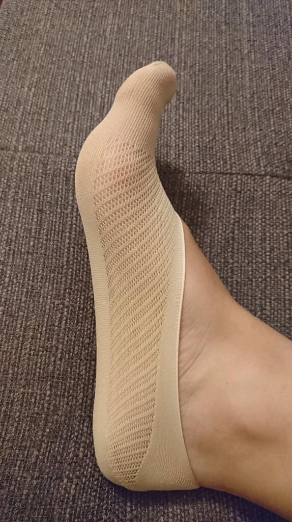 Fashion Womens Lace Non-slip Invisible Low Cut Socks Toe Ankle Sock Summer H11