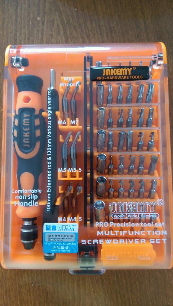 Details about  /Jakemy Screwdriver Set 99 in 1 with 50 Magnetic Precision Driver Bits Repair T