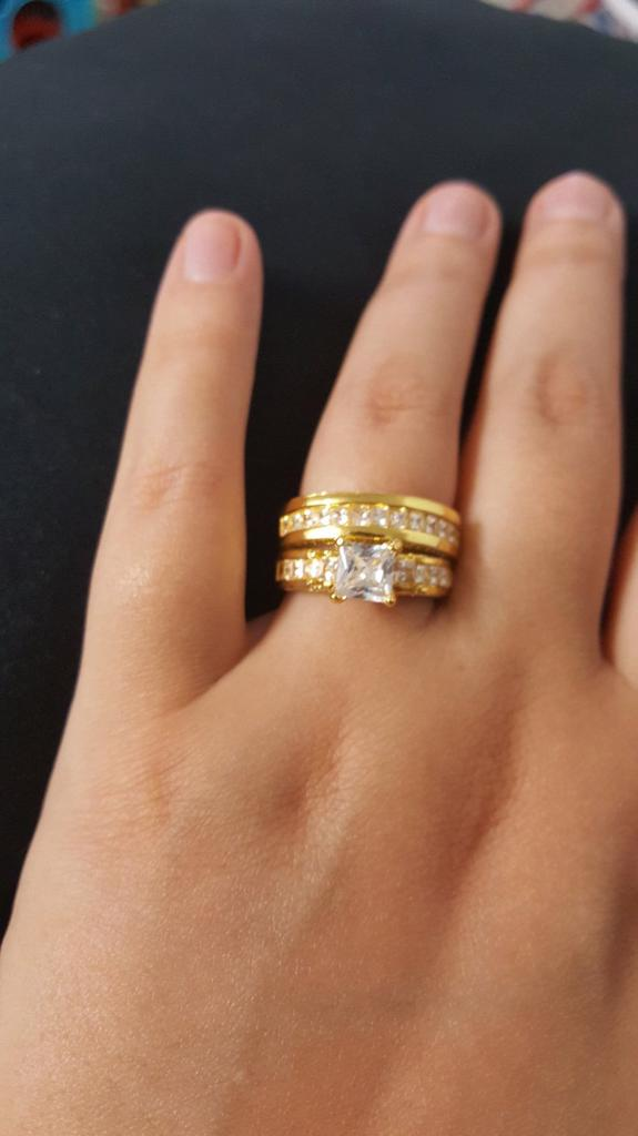 Stainless Steel Dragon Pattern Rings Gold Color Couple Ring Wedding Ring Buy At A Low Prices On Joom E Commerce Platform