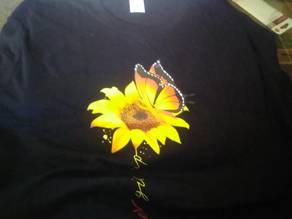 Women Jumper Sweatshirt Blouse Tops Sunflower Print Shirt Plus UK Size 6-24