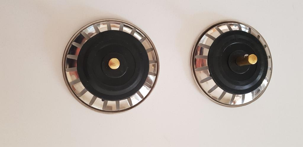 2pcs Replacement Strainer Waste Kitchen Sink Plugs Fits Most Franke Sinks #VU