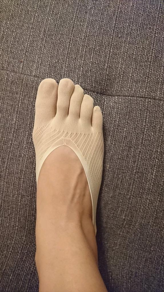 Womens Cotton Blend Lace Antiskid Invisible Low Cut Socks Toe Ankle Sock TSDWnh3